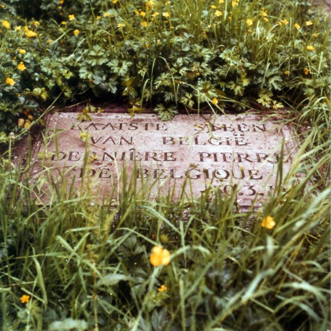 The last stone of Belgium, 1979 (Foto: Luc Deleu Copyright: SABAM)