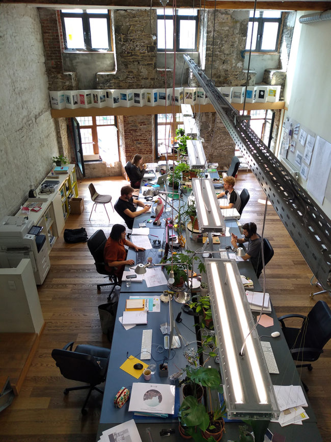 Bureau (Foto: Compagnie-O architects)
