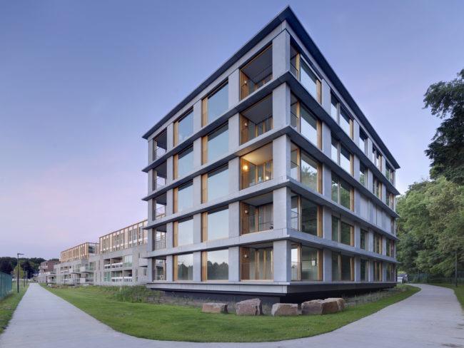 Boechout Midden, FVWW Frederic Vandoninck Wouter Willems Architecten, Bulk Architecten, BUUR   bureau voor urbanisme (Foto: Bart Gosselin)