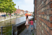 Belevingstocht voor gezinnen architectuur in Brugge