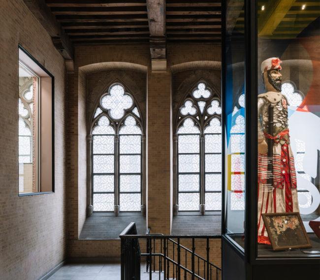 Herbestemming Stadhuis Ieper tot Ypermuseum i.s.m. FVWW (Foto: Allt)